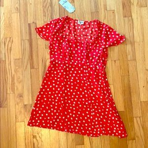 NWT Show Me Your MUMU Cassandra Dress Size Large